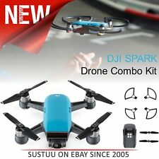 DJI SPARK Fly More Camera Drone Combo Kit│12MP│HD 1080p│CP.PT.000907│Sky Blue