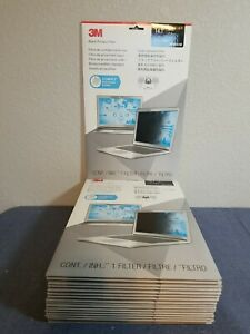 """Lot of 19 3M Privacy Filters for 14.1"""" Standard Laptop (PF141C3B) FREE SHIP"""
