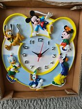More details for disney mouse head shaped clock