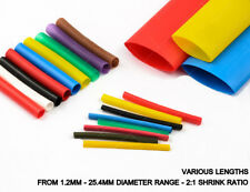 Heat Shrink Tube / Sleeve Various Colours / Lengths / Sizes From 1.2mm - 25.4mm