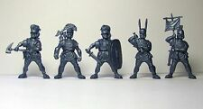 Romans 5 figures no packing HARD 54 mm 1:32 Russian toy soldiers Tehnolog