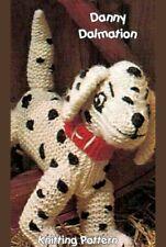 dalmation dog toy  knitting pattern
