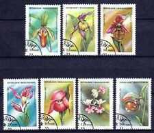 Flore - Orchidées Madagascar (85) série complète de 7 timbres oblitérés