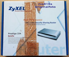 Zyxel Prestige 334 Broadband DSL/Cable Security Sharing Router, 4 x 10/100