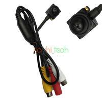 800TVL HD CCTV Wired Covert Screw Pinhole CMOS Mini Camera Home Security Spy Cam