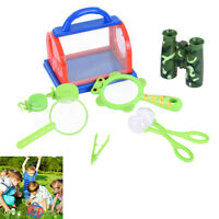 Outdoor Bug Catcher And 8pcs Exploration Set For Kids Child Insect Catching Kit