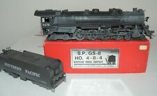 HO Brass Southern Pacific GS-7 4-8-4 Custom Paint #4476 Westside XLNT Runs Well
