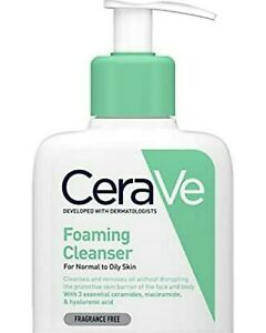 CeraVe foaming hyaluronic acid non-drying cleanser for oily to normal skin 236ml