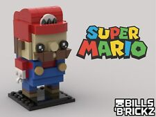 Lego MOC Brickheadz - Super Mario - Custom Model - PDF Instructions