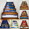 Christmas Decoration Stair Stickers Christmas Stairs Stickers Wall Stickers
