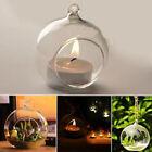 Hanging Crystal Glass Candle Holder Home Bar Wedding Romantic Dinner Decor