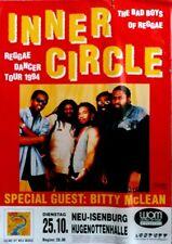 INNER CIRCLE - 1994 - Konzertplakat - Will Rock with You - Tourposter - Concert