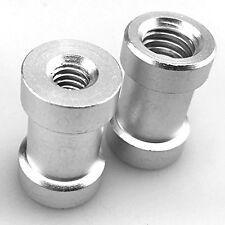 "1/4""-3/8"" female thread adaptador screw Spigot Photo Studio Flash light Stand"