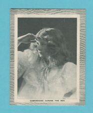 WORD WAR I  -  RED  LETTER  -  MIDGET  MESSAGE  CARD  NO. 5  (2)  -  1915