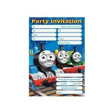 Thomas Y Sus Amigos Invitaciones Fiesta Cumpleaños & Sobres 20pk-Tank Motor