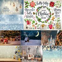 Christmas Background Cloth Halloween Theme Home DIY Decor Photo Studio Backdrop