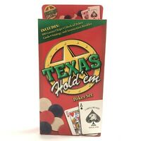 Texas Hold´em Poker-Set von Cartamundi OVP - Texas Holdem Pokerset Casino Chips