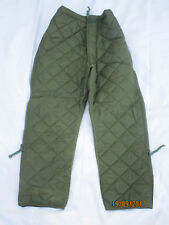 Liner Extreme Cold Weather Trousers, thermo Pantalons matelassés, olive, T.76 /