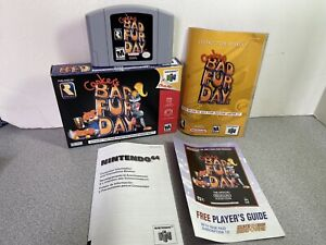 Conker's Bad Fur Day BFD Rare Nintendo 64 N64 Authentic Complete w/ Manual Box