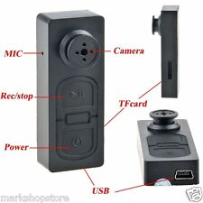Spy Camera Button HD Video Recorder Mini Hidden Pinhole Camcorder 1280 X 960p