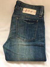 "Firetrap Blackseal Blue Jeans Size W26"" L32"""