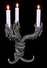 Drachen Kerzenhalter - Hydra - Gothic Tischdeko Altar Magie