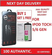 IPOD TOUCH 5TH/6TH GENERATION GENUINE TEMPERED GLASS SCREEN PROTECTOR