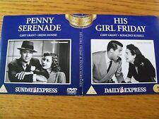 His Girl Friday / Penny Serenade (DVD's promo)