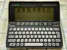 Rarität  Sammler Psion Clone Acorn book (Psion 3a)