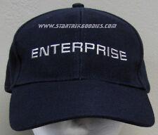 """RARE Star Trek: Enterprise PROMO CAP """"ENTERPRISE"""" Front """"PLANK OWNER"""" Back!"""