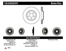 Disc Brake Rotor-Premium Disc-Preferred Centric fits 01-10 Chrysler PT Cruiser