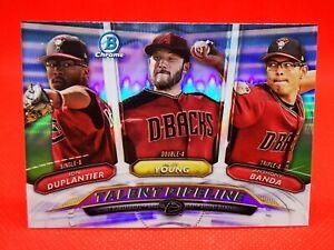 Topps 2018 chrome carte card Baseball NM+/M Talent Pipeline Arizona Diamondbacks