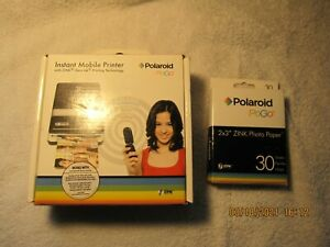 "Polaroid Pogo Instant Mobile Printer + 30 sheets (2 x 3"")"