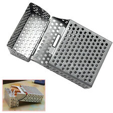 Aluminum Metal Cigar Cigarette Box Holder Storage Hollow Case New
