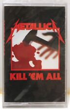 METALLICA Kill Em All cassette - NEW! STILL SEALED! (U.S.  Elektra)