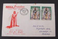 Jamaica-1964-Miss World FDC-Kingston