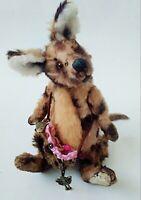 Teddy Kangaroo Juju OOAK Artist Teddy