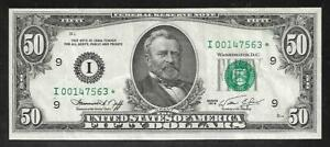 US 50 Dollar - FRN - 1974 - Mpls. Fed. - Star Replacement - VF/XF
