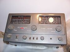 Vintage National NC-88 Shortwave Ham Radio in working condition Free Ship in USA