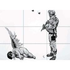 "Banksy Fallen Angel Street Graffiti Giant Wall Mural Art Poster Print 50x35"""