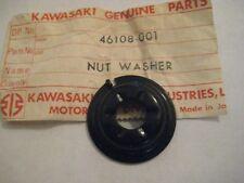 KAWASAKI W2TT/W2SS/W1SS/W1/A7SS/A7/A1SS/A1 STEERING DAMPER NUT NOS!