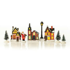 Miniature Christmas Houses Lightup Ornament