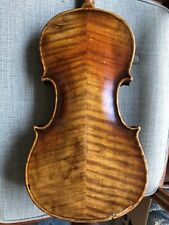 Beautiful old vintage antique 3/4 German Or French Violin #A