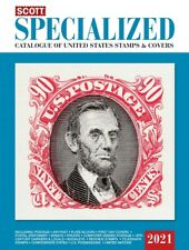 Pre-Sale 2021 Scott Specialized United States Postage Stamps & Covers Catalogue