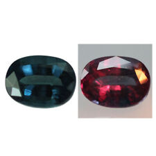1.88ct Oval-Cut Natural Blue To Rasbery Pink Color Change Garnet