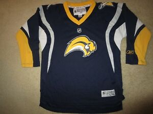 Buffalo Sabres Hockey NHL Reebok Jersey Youth XL 18-20