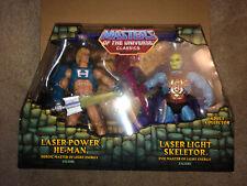 Masters of the Universe Classics LASER POWER HE-MAN & LASER LIGHT SKELETOR New