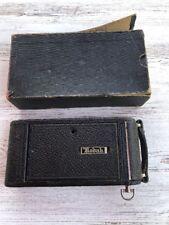 Antique Eastman Kodak Co. Camera No. 1A Autographic Jr. Model A 1 A Junior Box
