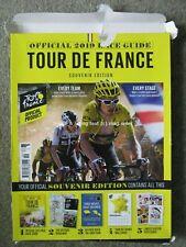Tour de France 2019 Official Race Guide 1989 Tour Book Map Postcards & Wallchart