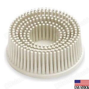 3M 18733 Roloc Bristle Disc 120 Grade Size: 2, Abrasive Filled Bristles Strip